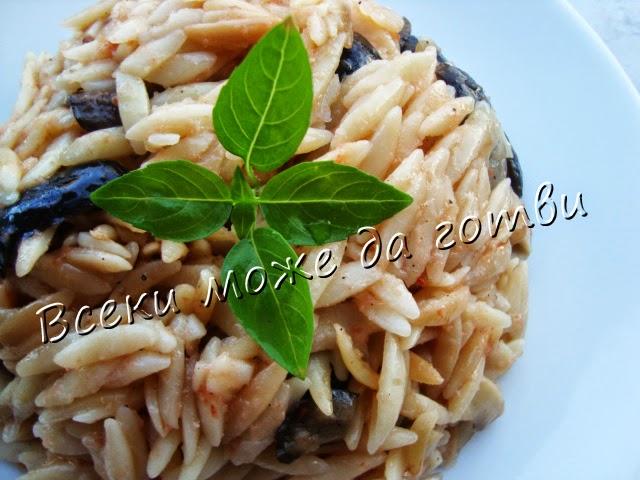 Арпа фиде с маслини