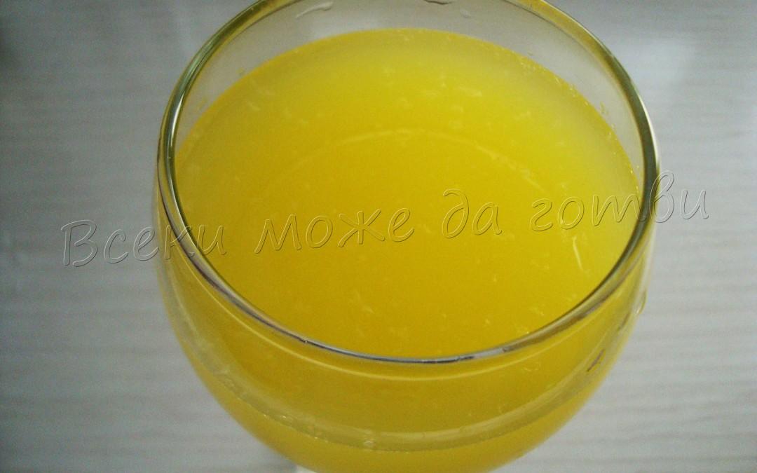 Как се прави 3 литра сок от 1 портокал и 1 лимон?