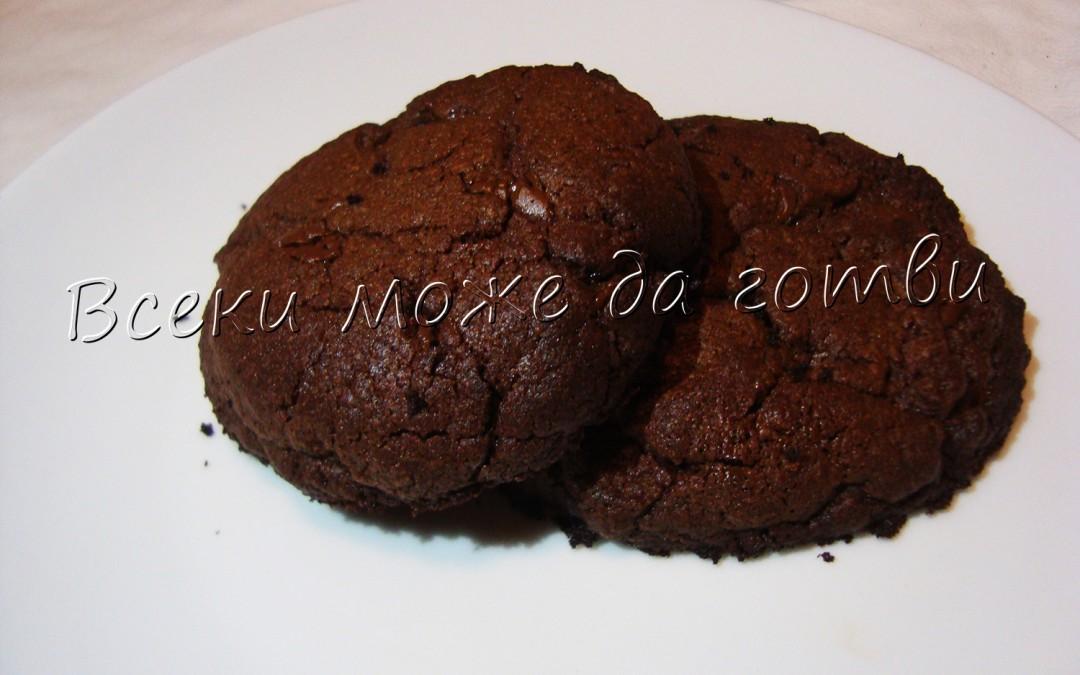 Най-лесните и бързи бисквити с 2 вида шоколад