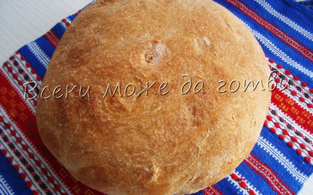 """Хляб от """"къпано"""" тесто"""