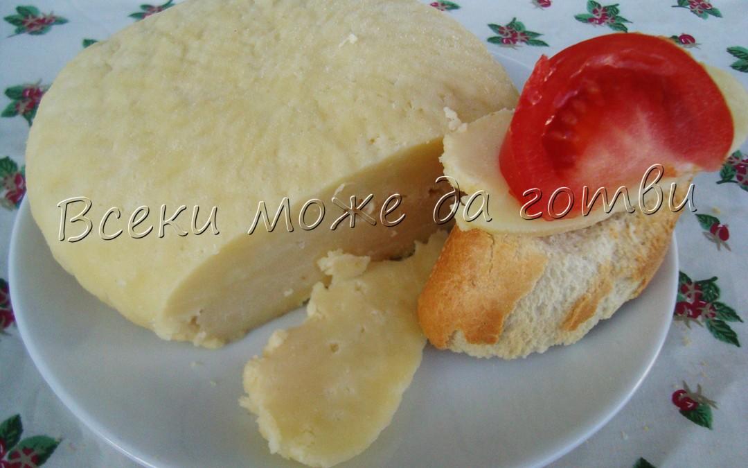 Домашен кашкавал – много лесна рецепта