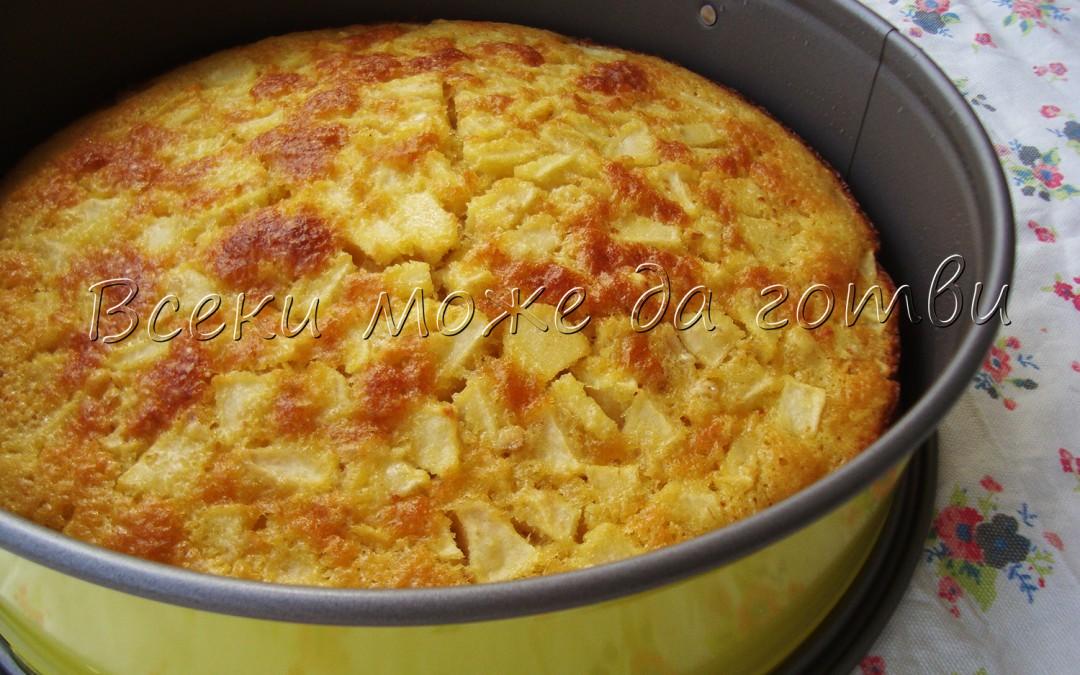 Пухкав кекс с ябълки и канела – вижте тази лесна рецепта!