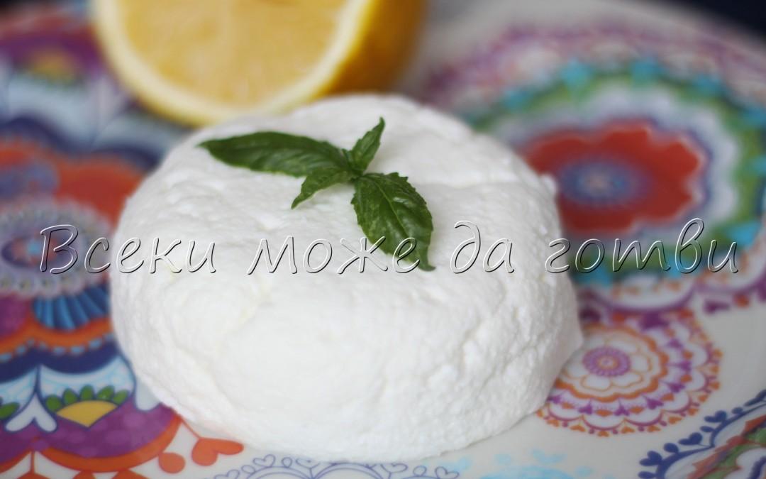 Крема сирене само с 2 съставки – вижте как се прави!