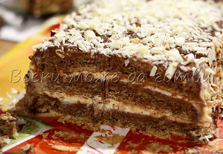 vkusna torta s orehi