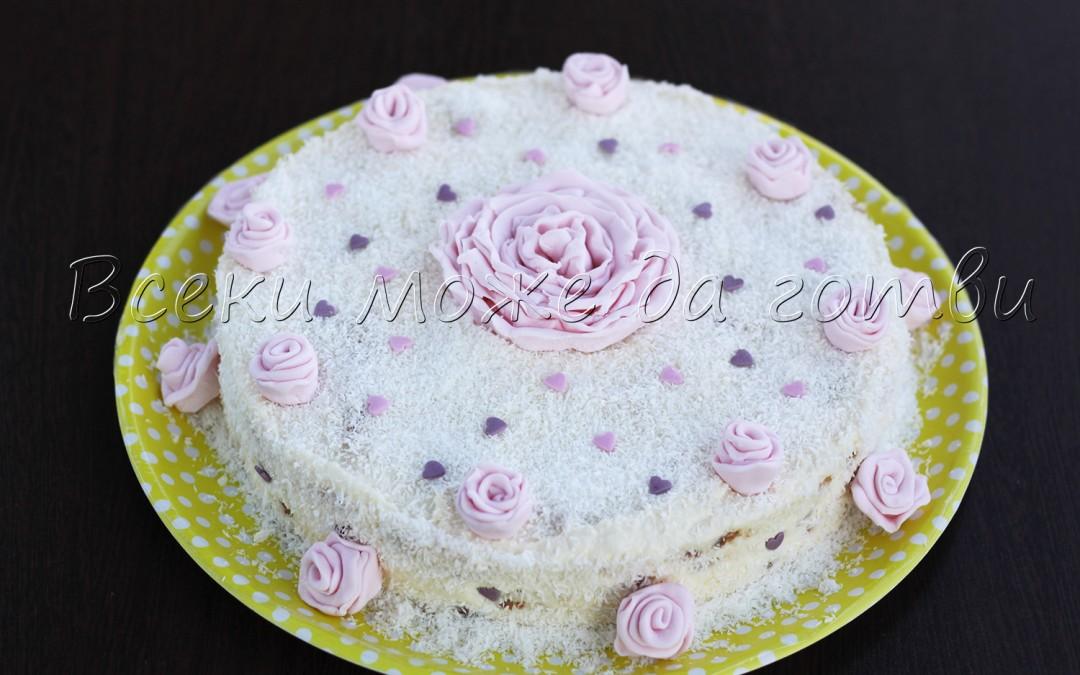 Разкошна торта без печене – готова е за 30 минути!