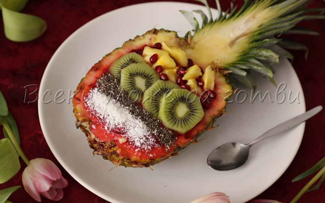2 ефектни рецепти с пресен ананас (чудесни са за закуска)