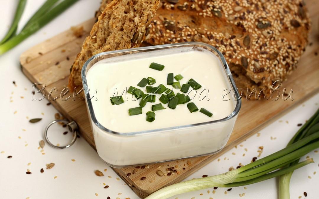 Крема сирене по бърза рецепта – вкусотия за 5 минути