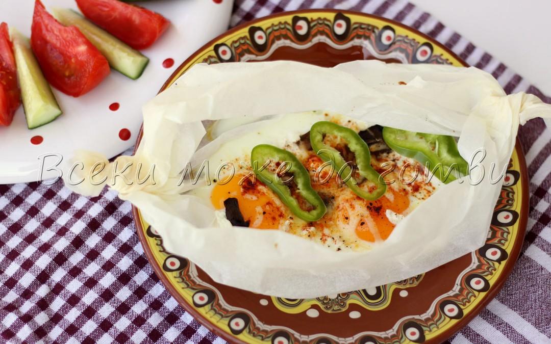 Ще си припомните детството: Лесна рецепта за яйца върху хартия