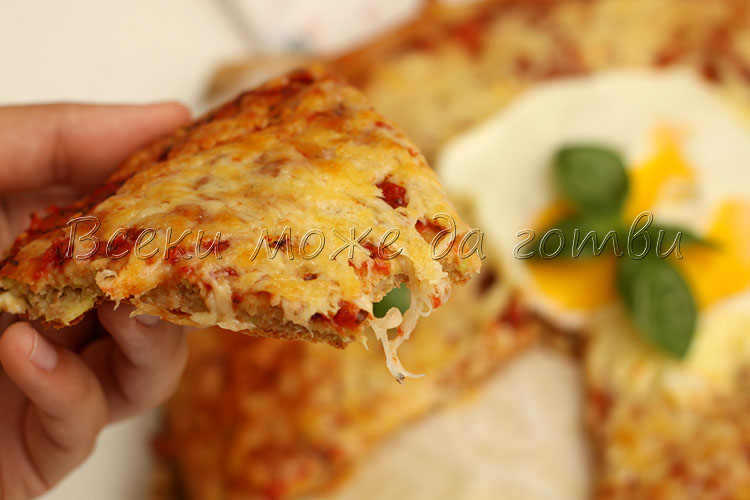 pitsa s tikvichka i kashkaval