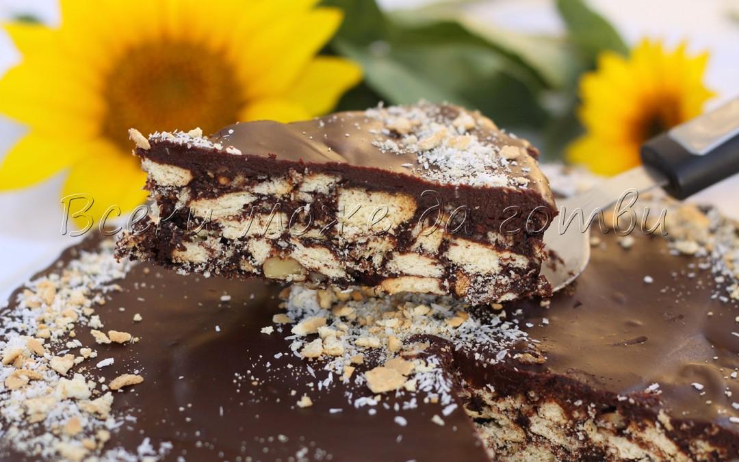 Без печене: Бърз десерт с бисквити и шоколад (неустоимо вкусен)