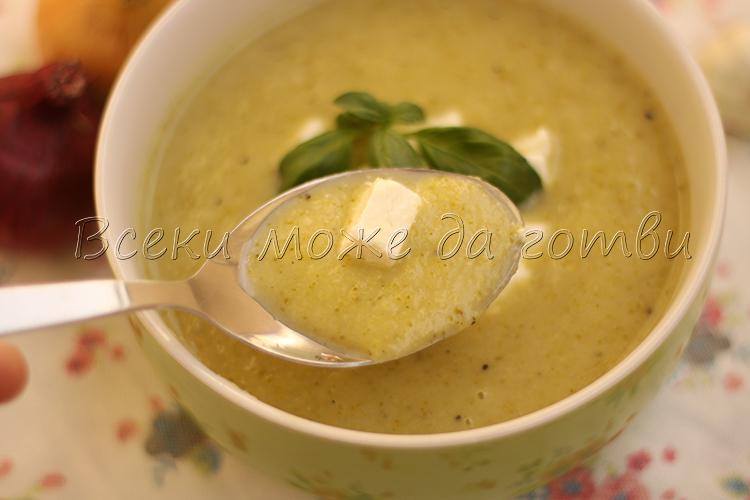 крем супа броколи