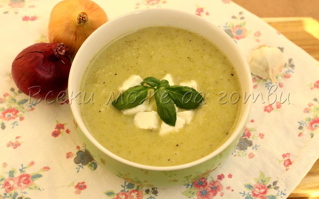 Най-вкусната и лесна крем супа от броколи е пред вас