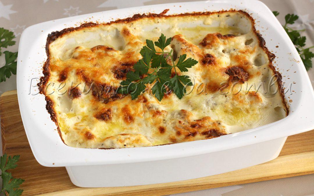 Ястие на фурна: Ето така се прави сочно пилешко с картофи!