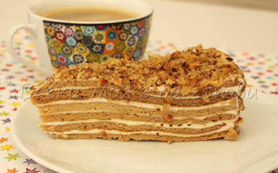 Класическа рецепта за прочутата Френска селска торта – ето как се прави