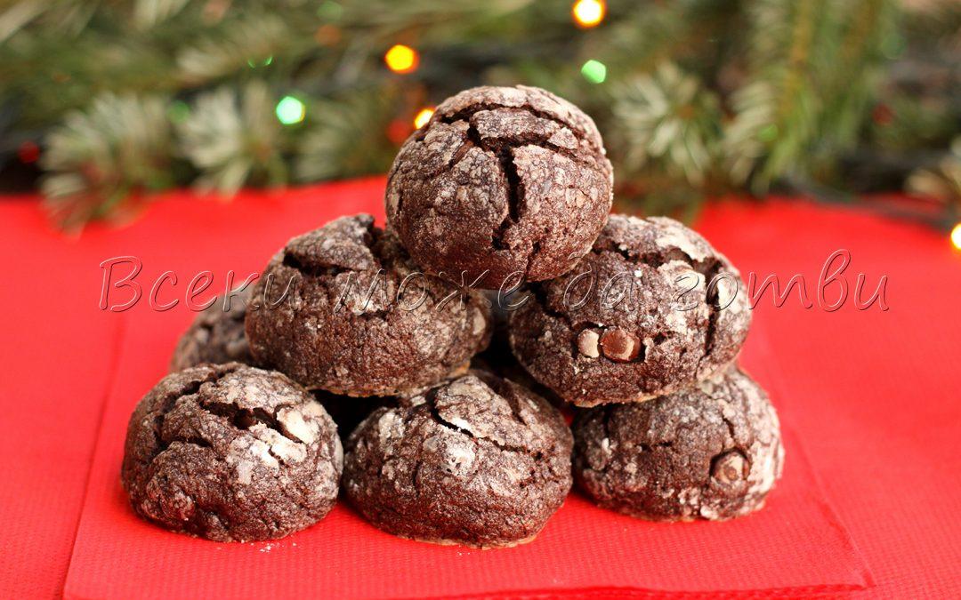 Бърза рецепта: Вижте как се правят популярните напукани сладки с шоколад