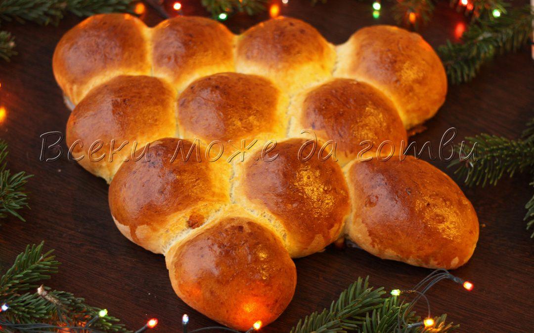 Питка Коледна елха – вижте най-лесната рецепта