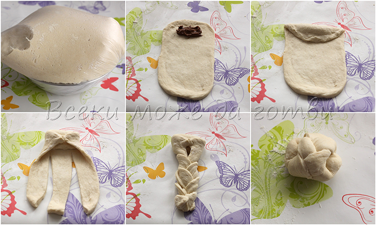 оформяне козуначени хлебчета