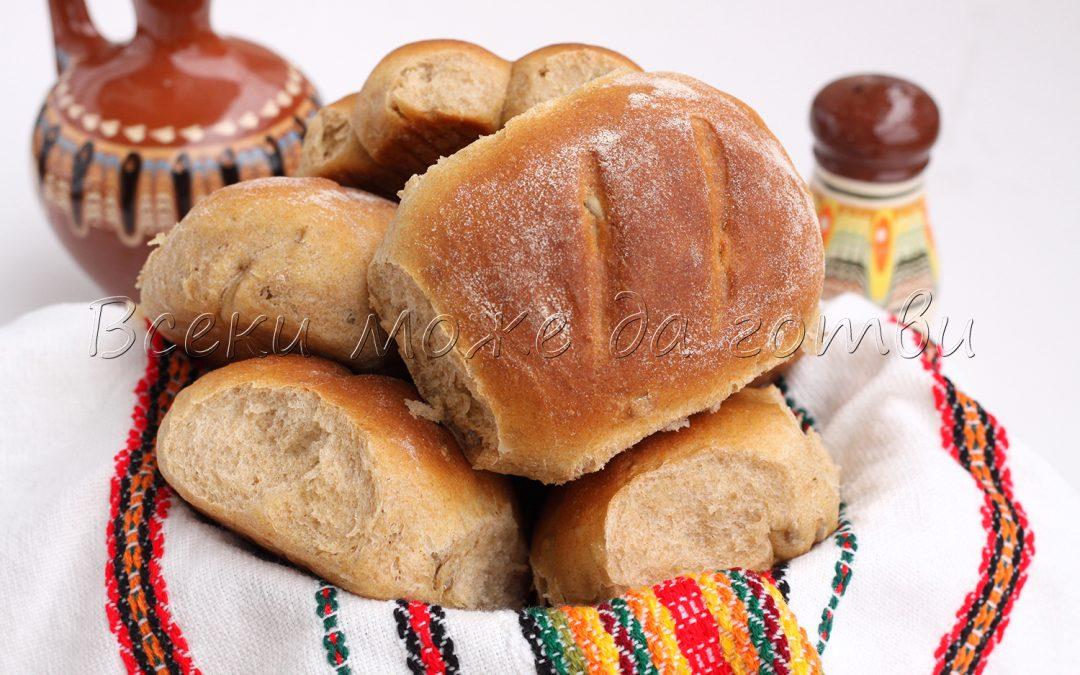 Малки хлебчета от типово брашно (тази рецепта ще ви стане любима)