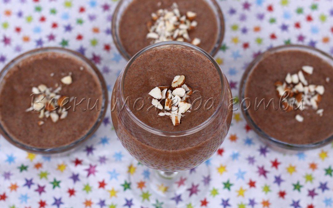 Нетрадиционна рецепта за шоколадов мус с изненадваща съставка