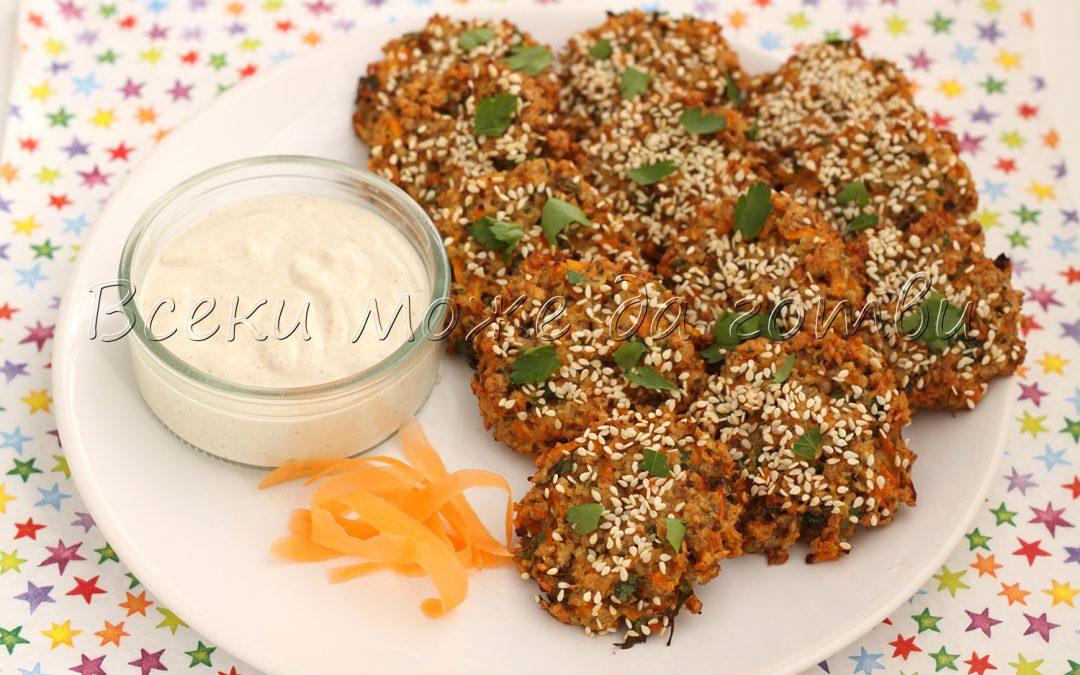 Здравословни кюфтенца с моркови и пресовани ядки от елда – готови са за 30 минути