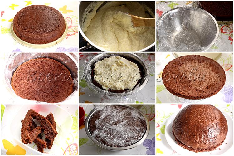 лесна рецепта за торта купол