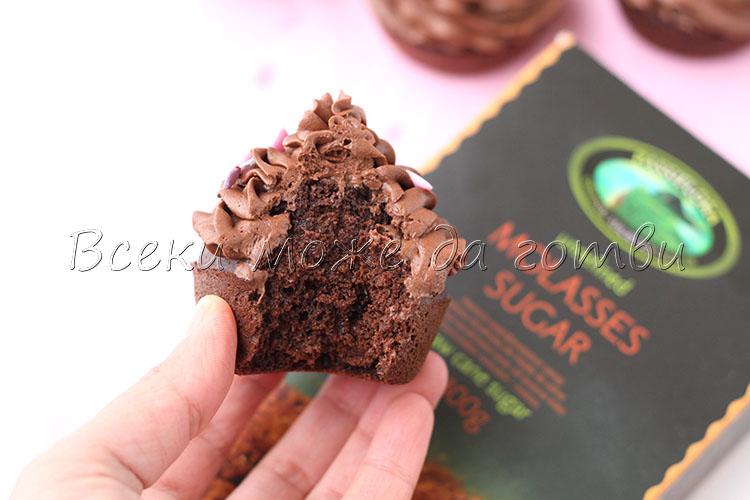 мъфини с шоколад рецепта