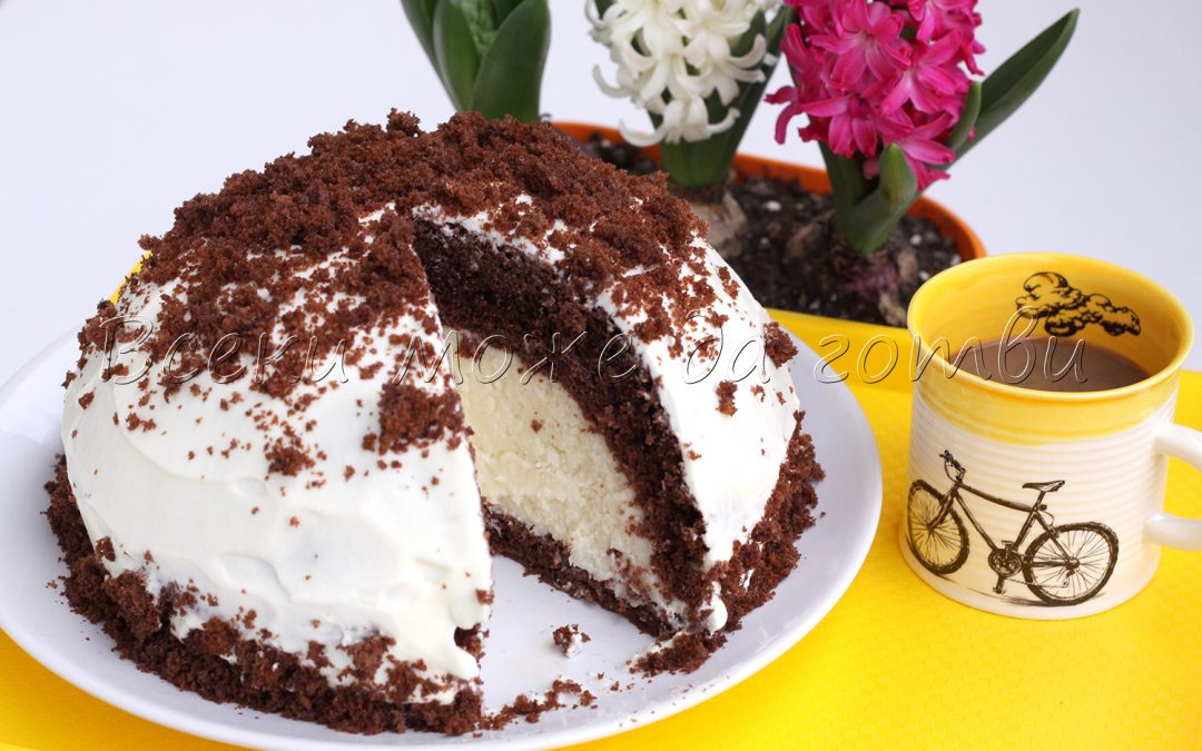 """Така се прави прочутата торта """"Купол"""" с кокосови стърготини"""