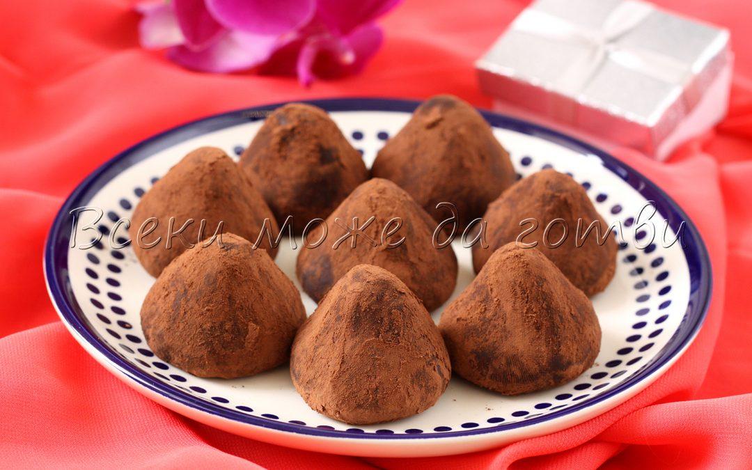 Сладки за 8-ми март: Лесна рецепта за какаови трюфели