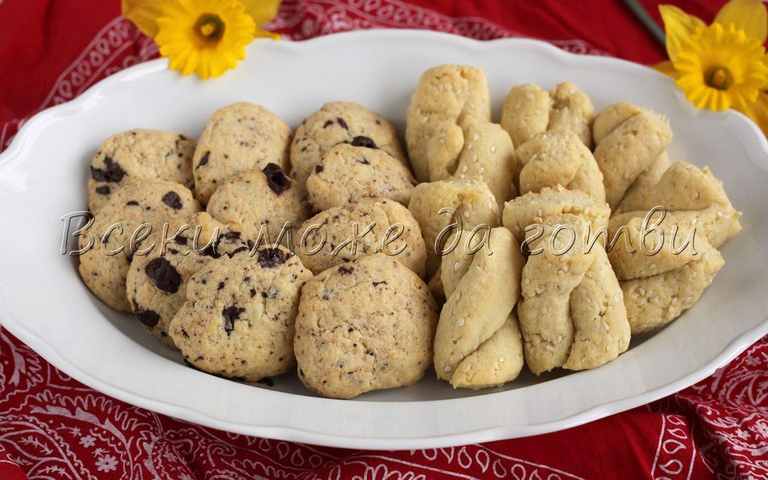 2 в 1: Как да си направим сладки и солени бисквити с едно тесто?