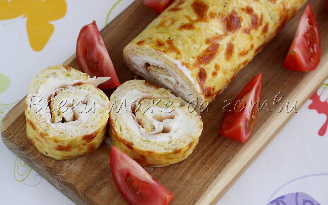Руло от тиквички – лесна, евтина и вкусна рецепта