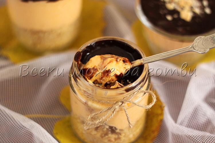 бърз десерт в чаша