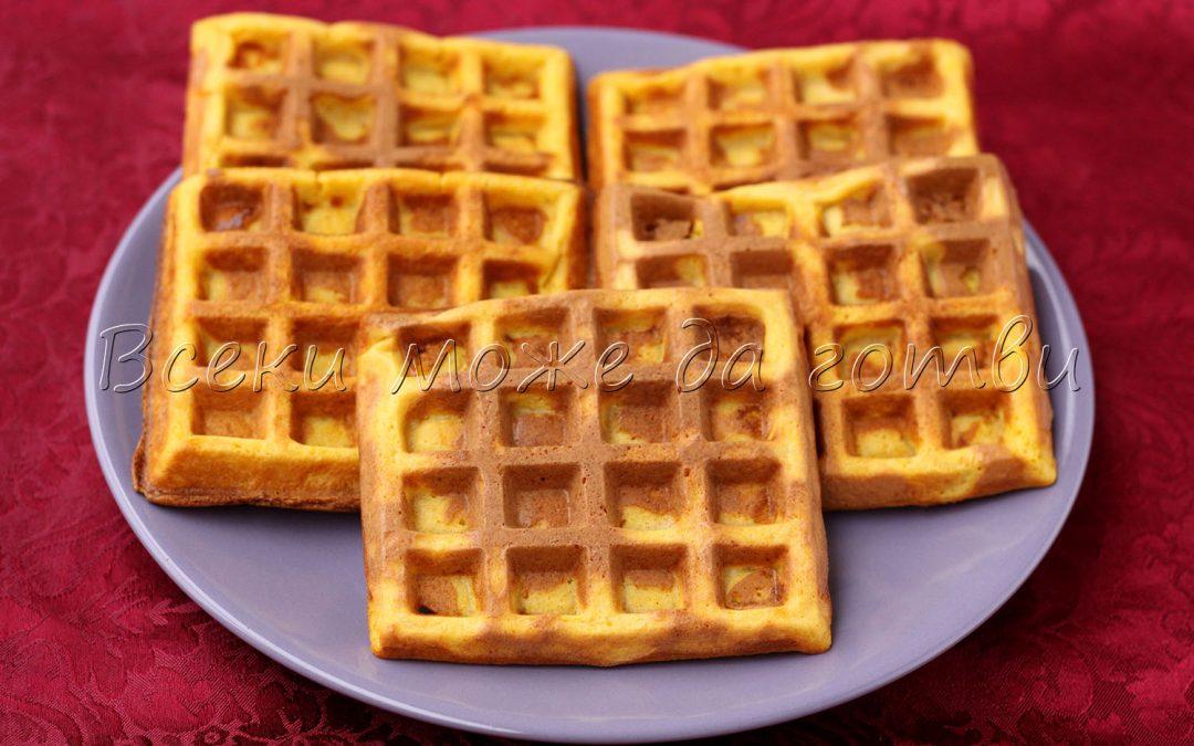Гофрети с тиква – идея за лесна и засищаща закуска