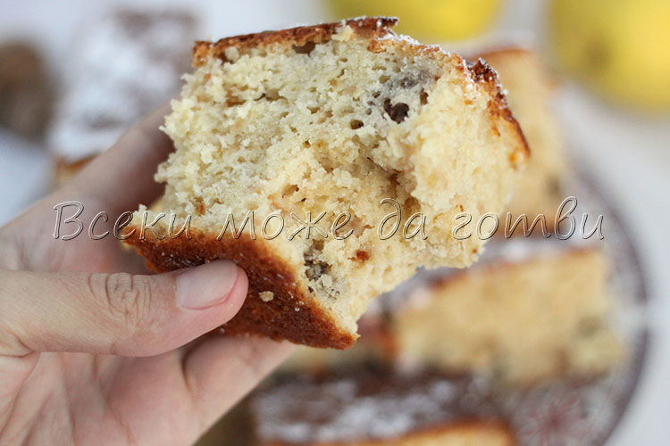 рецепта за кекс с дюли