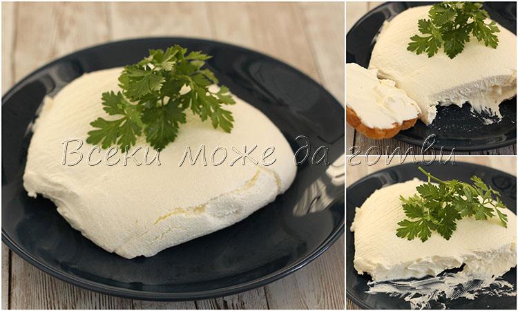 домашно крема сирене Филаделфия