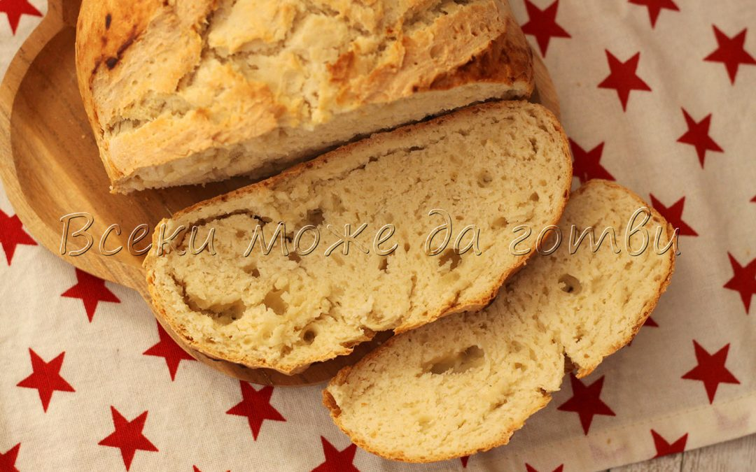 Домашен хляб без мая – нужни са ви само 5 продукта