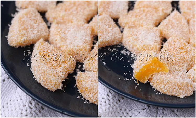 домашен локум с мандарини