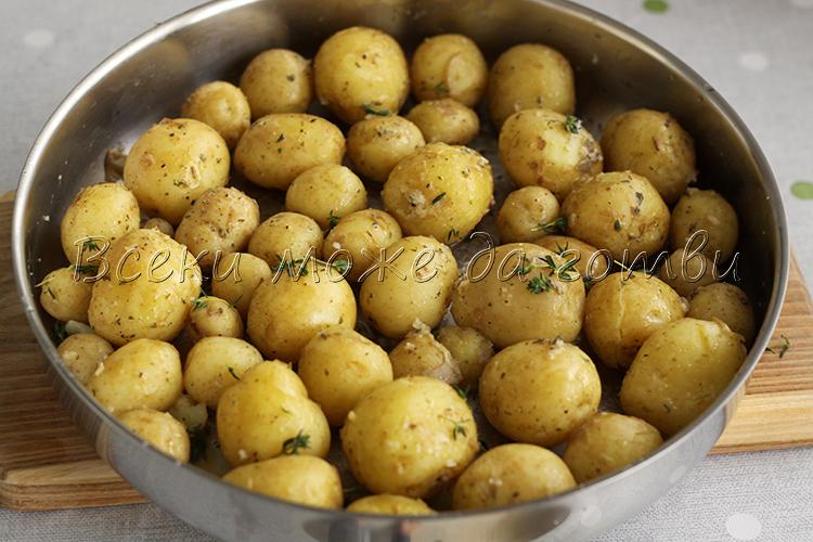 рецепта с пресни картофи