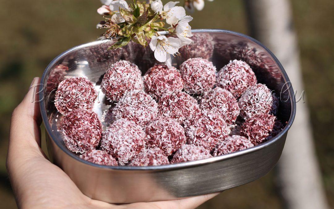 Домашни бонбони с червено цвекло – лесна и здравословна рецепта