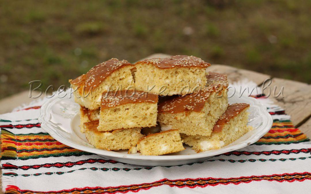 Най-лесната и бърза рецепта за бъркан тутманик със сирене (БЕЗ мая)
