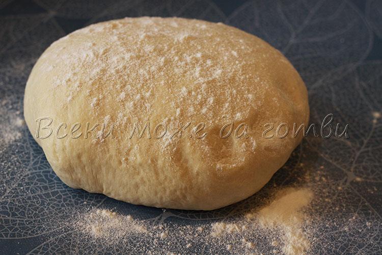 еластично тесто с мая