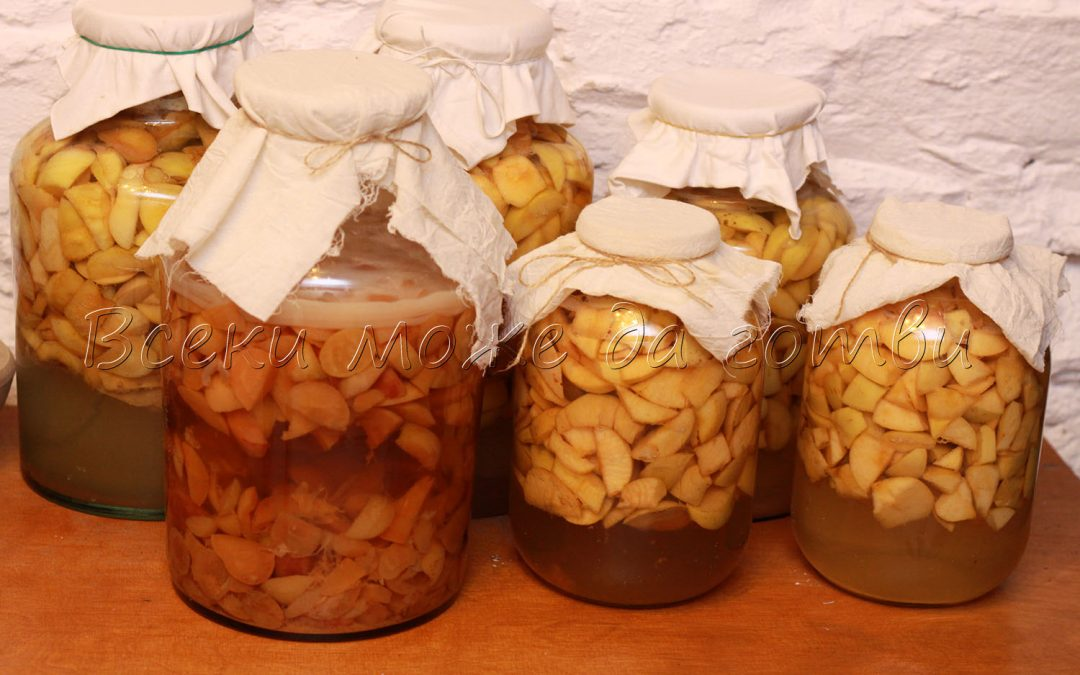 Домашен ябълков оцет – лесна рецепта за начинаещи