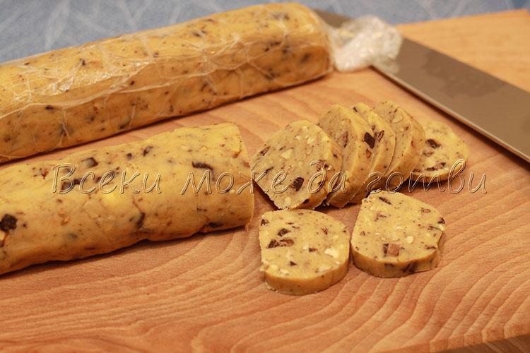 бисквити с орехи