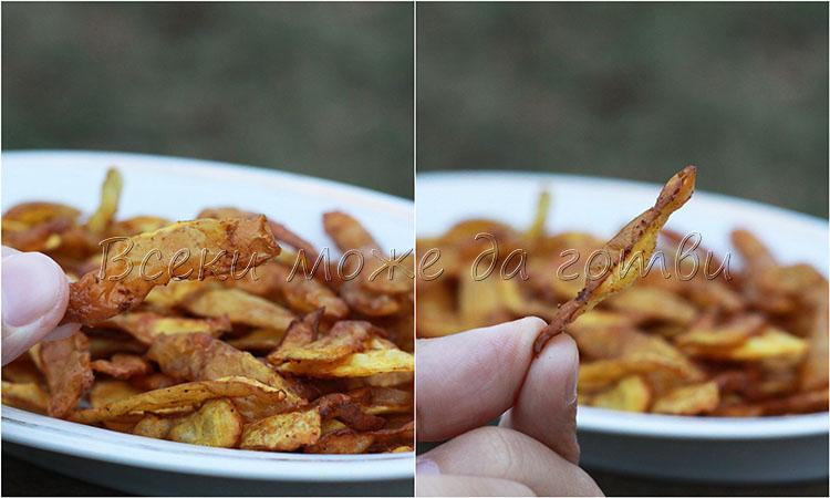 чипс на фурна