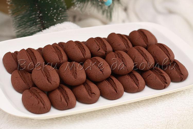 бисквити с кафе и какао