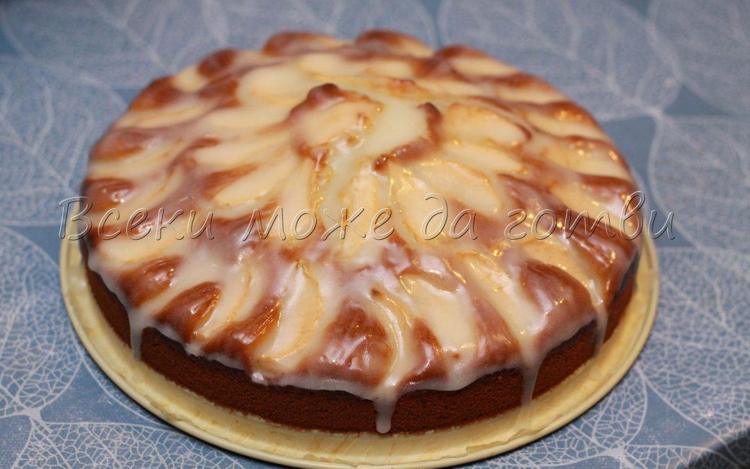Вкусен ябълков кекс с глазура – лесна и сполучлива рецепта