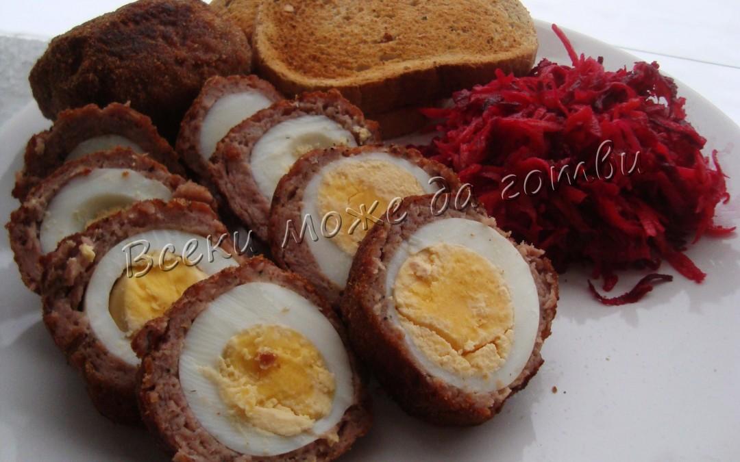 Идея за вкусен обяд: Яйца по шотландски