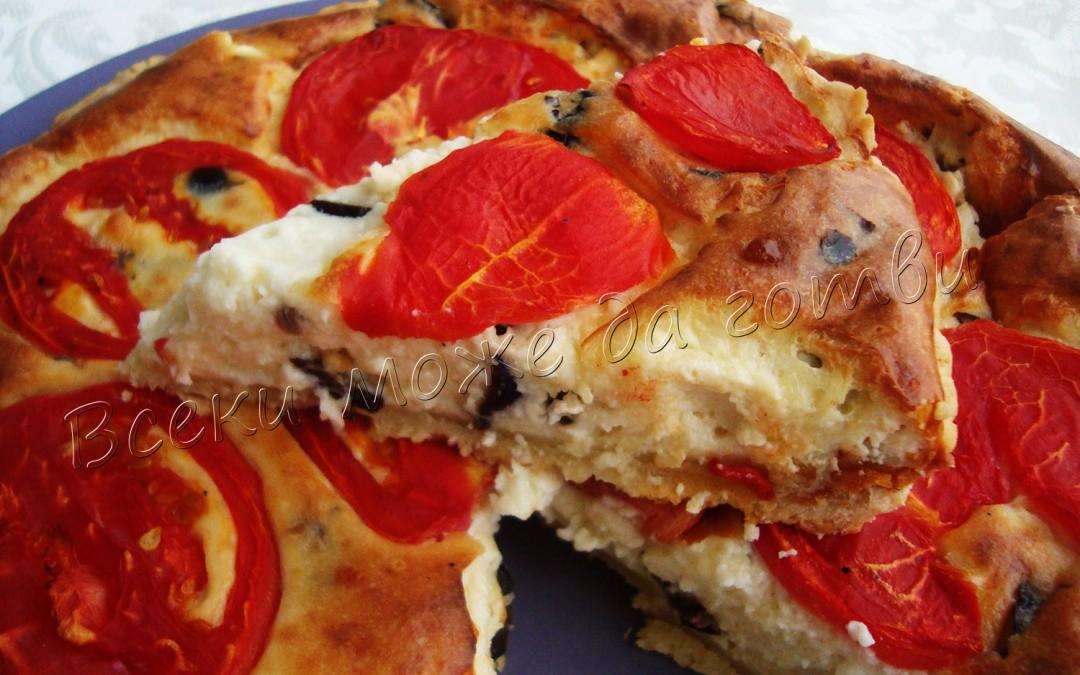 Апетитен тарт с домати – как се приготвя?