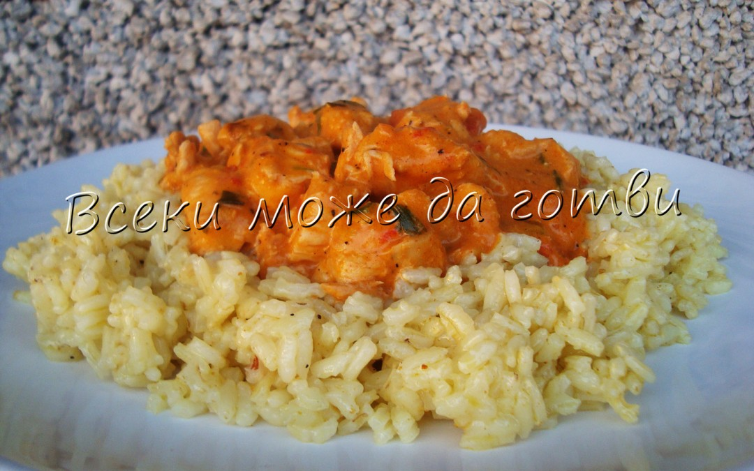 """Лесна рецепта за пиле """"Тика Масала"""""""