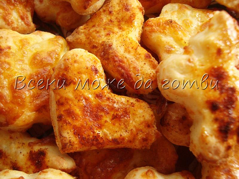 Бабината рецепта за соленки с кашкавал