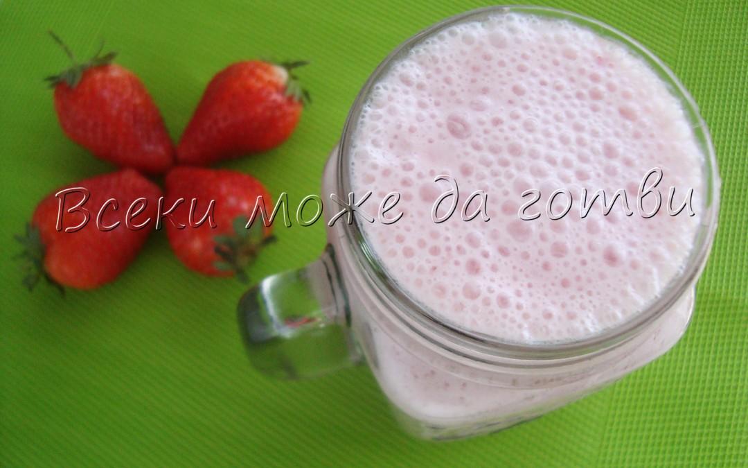 Вкусът на пролетта: Лесно ягодово смути